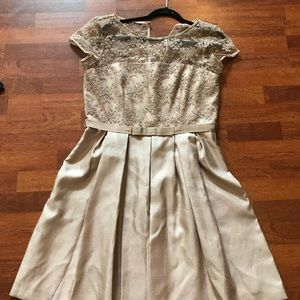 Taylor fit and flare size 12